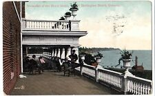 Burlington Beach Ontario Brant Hotel Verandah - Prelinen 1909 Good Corner Wear