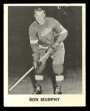 1965 COCA-COLA COKE RON MURPHY VG-EX DETROIT RED WINGS HOCKEY CARD FREE SHIP