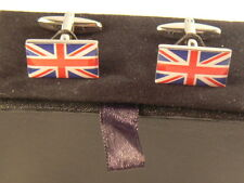 NEW UNION JACK CUFFLINKS IN PRESENTATION BOX