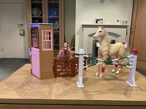 barbie horse stable