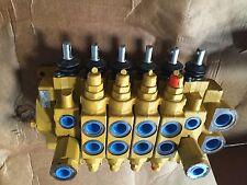 Caterpillar 9T7938 Cat 6 spool hydraulic control valve backhoe loader digger 428