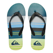 Infradito Quiksilver Sandals Molokai Everyday Stripe Black & Blue