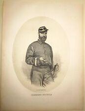 1862 COLONNELLO STATELLA Vincenzo litografia Terzaghi Spaccaforno sped. mille