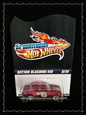 Hot Wheels 2012 Mexico Convention Datsun 510 Pink Chrome RARE