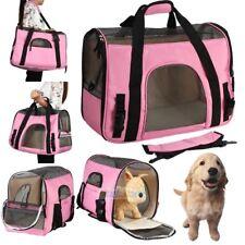 Large Pet Carrier OxFord Soft Sided Cat/Dog Comfort Travel Tote Shoulder Bag USA