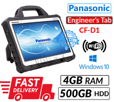 PANASONIC TOUGHBOOK CF-D1 INTEL 847 4GB 500GB ENGINEER'S DIAGNOSTIC XENTRY TAB