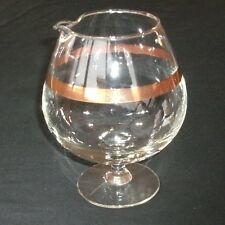 "VINTAGE 6 1/4"" INDIVIDUAL MARTINI PITCHER! WEST VIRGINIA GLASS/DOROTHY THORPE!"