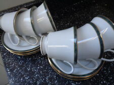 More details for boots hanover green cups and saucers x 6