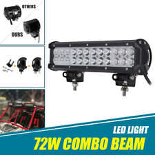 "12"" Inch LED Work Light Bar Combo For Yamaha Grizzly 450 550 660 Kodiak 600 700"