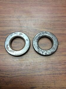 NOS 1934-1948 FORD DELUXE CUSTOM FRONT HUB SEAL SET 48-1190