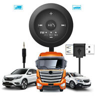 AUX3.5mm Jack Stereo Audio Car Radio Adapter MP3 Player FM Transmitter Bluetooth