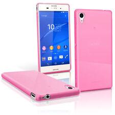 Étuis, housses et coques roses transparentes Sony Xperia M pour téléphone mobile et assistant personnel (PDA)