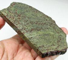 478.3Ct Natural Dragon Blood Stone Specimen Facet Rough YDB1389
