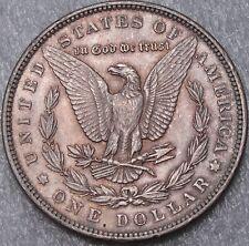 1889 $1 Morgan Silver Dollar, Toned, BU, UNC, 90% Silver, #3926