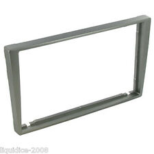 CT24VX32 CHEVROLET CELTA 2002 to 2010 MATT SILVER DOUBLE DIN FASCIA PANEL