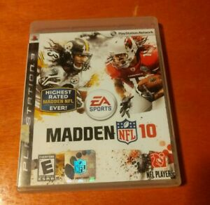 Madden NFL 10 Sony PlayStation 3 PS3 EA Sports