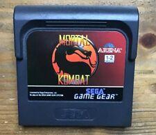 Sega Game Gear Mortal Kombat Cartridge Only. PAL Version
