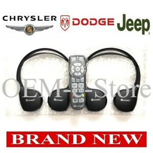 2013-2016 Chrysler Town & Country Entertainment 2 Wireless Headphones + 1 Remote