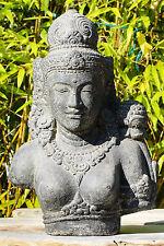 Shiva Devi Tara Indonesien Lavastein Skulptur Statue Feng Shui Garten Deko