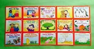 Childrens Books Level B Preschool Kindergarten Learn to Read Books Lot 15