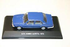 1/43 ALFA ROMEO ALFETTA 1972 BLUE SEDAN EG SERIE ORO 1/43 NEW