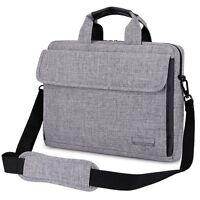 """14.6"""" Laptop Notebook Sleeve Case Shoulder Bag Handbag for Lenovo Dell HP Grey"""