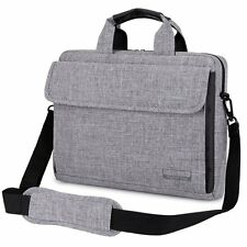 "15.6"" Laptop Notebook Sleeve Case Shoulder Bag Handbag for Lenovo Dell HP Grey"