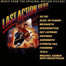 Last Action Hero (1993) AC/DC, Alice in Chains, Megadeath.. [CD]