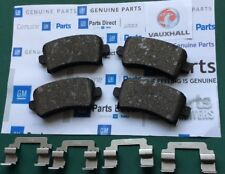 GENUINE VAUXHALL INSIGNIA 1.6 Hatch REAR BRAKE PADS 2008> 95515498 1598cc *LC02*