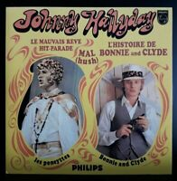 "CD EP Johnny Hallyday  "" Bonnie And Clyde "" (Sans Code Barre) 9478 Comme Neuf"
