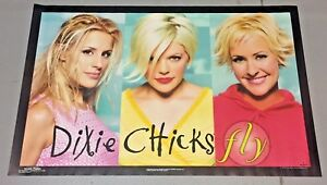 Vintage 1999 Dixie Chicks Fly Poster (22 x 34 inches) Unused
