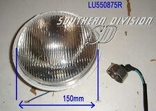 Phares lampe réflecteur Lucas 550875 6 pouces 6.5 pouces mu42 BSA Ariel pjus