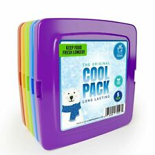 Healthy Packers [New] Cool Pack, Slim Ice Pack for Lunch Box (Set of 5)