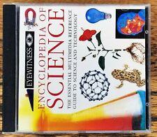 Eyewitness Encyclopedia of Science CD-ROM pc windows DK 1994