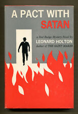 A PACT WITH SATAN by Leonard Holton - 1960 1st Edition in DJ - Fine/VG+