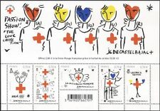 France 2016 Red Cross/Medical/Health/Welfare/Castelbajac/Artists 5v m/s (n45654)