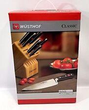 WUSTHOF Classic 12 Piece Knife Block Set Germany 7412 NEW