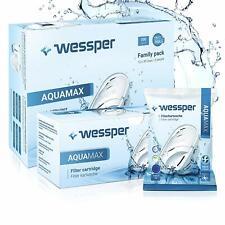 15x Wessper Aquamax Wasserfilter für BRITA Maxtra, Marella, AmazonBasics WES003