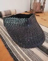 Boho Eco-friendly Straw Sun Visor Hat Hand-woven