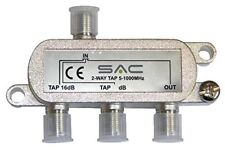 SAC 2-Way Tap 27dB Class A Shielded AE5428