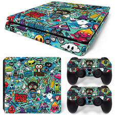 Sticker Bomb - PS4 Pro Protective Skin Stickers Console & 2 Controllers - 0982