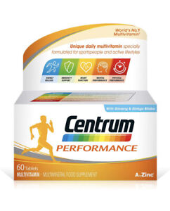 FAST | Centrum Performance Multivitamins and Minerals Tablet, 60 Tablets