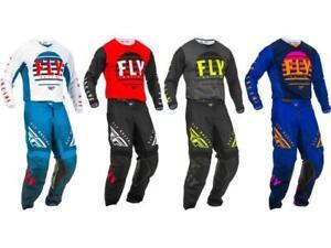 Fly Racing Kinetic K220 Jersey & Pant Combo Set MX Riding Gear ATV Motocross '20