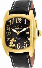 Invicta Disney Limited Edition 25023 Men's Black Tonneau Date Analog Watch