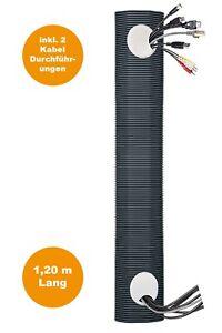 Kabelkanal Unterputz unsichtbare Kabel HDMI, Scart, Strom, Multimedia