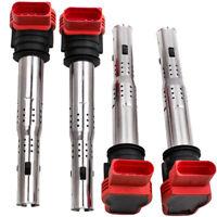 4xHIGH QUALITY for Audi R8 Ignition Coil Packs 06E905115E S3 A4 A5 A6 Golf Skoda