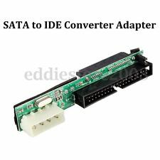 7+15Pin Female SATA SSD HDD Hard Drive To IDE 3.5'' 40 P Male Converter Adapter