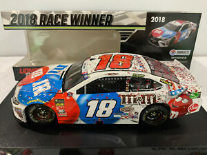 2018  #18 Kyle Busch M&M's Red White & Blue Charlotte Win