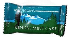 Kendal Mint Cake 6 x 35g Bars Quiggins  White Kendal Mintcake