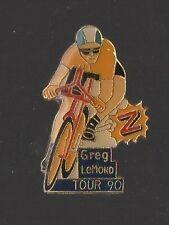 Pin's cyclisme / Greg Lemond - tour 90